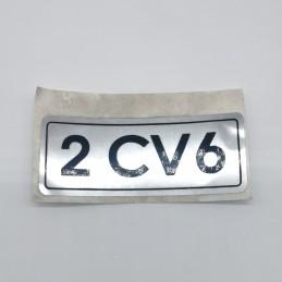 07-07-000 Pegatina 2 CV 6