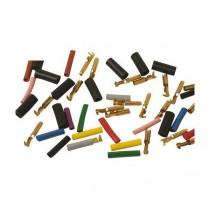 06-03-024C Kit de conectores 4 mm cobre