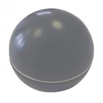 02-03-69G Bola de palanca gris con anillo cromado