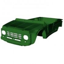 07-15-001EME Kit carrocería completa Mehari verde Montana