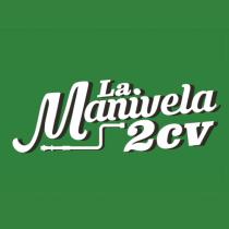 Pegatina redonda La Manivela 2 CV