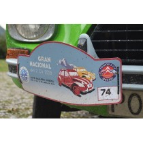 Placa rally GN2CV19