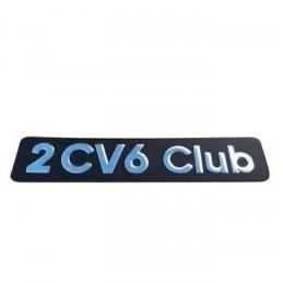 09-032 Monograma 2cv6 Club